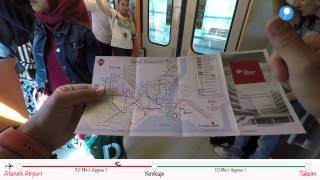 Download How To Go? - From Ataturk Airport to Taksim by Metro Video