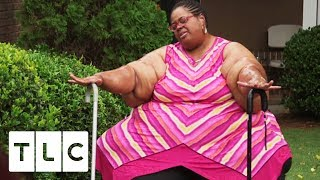Download Chitoka Attempts To Walk Outside For The First Time In Years | My 3000-lb Family Video