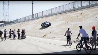 Download BMX VS CRAZY CAR GUY Video