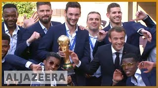 Download 🇫🇷 World Cup winners: Heroes' welcome for France players | Al Jazeera English Video