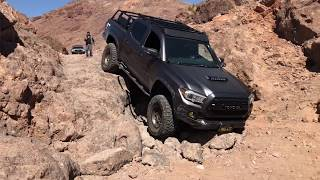 Download Toyota Tacoma's and Toyota 4Runner Off Road at Calico Video