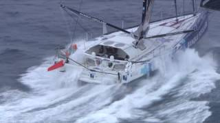 Download The incredible footage of Hugo Boss and Banque Populaire North of the Kerguelen Video