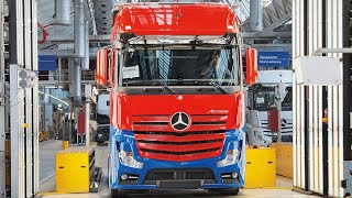 Download 🔴 Mercedes Actros Production Video