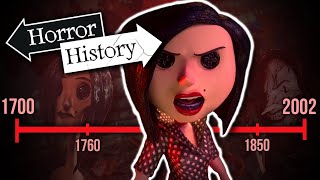Download Coraline: The History of The Beldam | Horror History Video