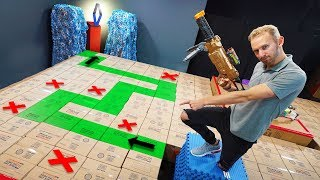 Download NERF Don't Fall In The Box Challenge! Video