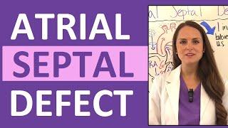 Download Atrial Septal Defect (ASD) Nursing | Congenital Heart Defects Pediatrics NCLEX Video