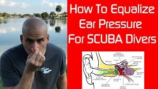 Download How to Equalize Ear Pressure using the Valsalva Maneuver while SCUBA diving Video