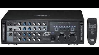 Download Karaoke amplfier, Audio2000 akj7003 AKJ 7003 mixing amp, karaoke mixer karaoke amp Video