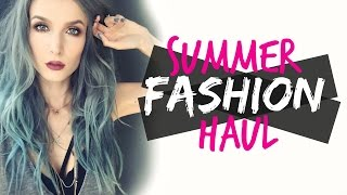 Download Summer Fashion Haul & Try-On!! Video