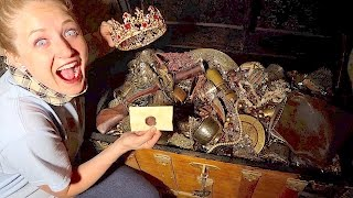 Download WE FOUND ANOTHER REAL TREASURE CHEST! EVEN MORE EPIC TREASURE HUNT! Video