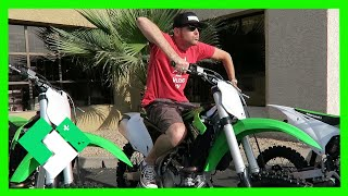 Download DIRT BIKE SHOPPING FOR DAD (4.6.15 - Day 1102) | Clintus.tv Video