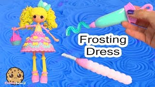 Download Lalaloopsy Girls Candle Slice O' Cake Fashion Frosting Dough Decorating Craft Doll Cookieswirlc Video