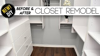 Download CLOSET Remodel // Surprising The Parents With A New Closet // Small closet Ideas Video