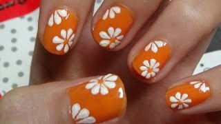 Download Easy Nails Art Design Using A Toothpick - Simple Flower Nail Art for Beginners Video