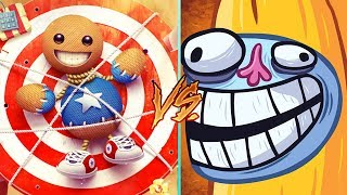Download Troll Face Quest Video Memes Vs Kick The Buddy - All Levels MEGA Weapons Funny Gameplay Video