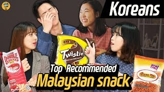 Download Koreans try famous Malaysian snacks! Video