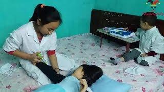 Download Phòng khám siêu nhân | Bác sỹ khám bệnh cho công chúa Video