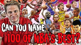 Download Can YOU NAME The 100 Greatest Players In NBA History? Video