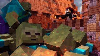 Download Minecraft | MUTANT ZOMBIE BASE DEFENSE! (Base vs Giant Zombie Challenge) Video