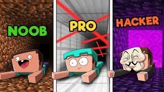 Download Minecraft - SECRET PRISON ESCAPE! (NOOB vs. PRO vs. HACKER) Video