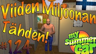 Download My Summer Car #124 | VIIDEN MILJOONAN TÄHDEN! Video