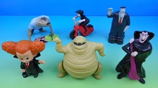 Download 2015 HOTEL TRANSYLVANIA 2 SET OF 6 McDONALD'S HAPPY MEAL KIDS MOVIE TOYS VIDEO REVIEW Video