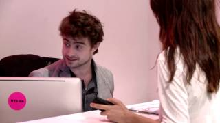 Download Daniel Radcliffe Was Our Receptionist for an Hour Video