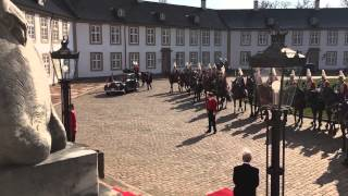 Download State Visit of king Willem-Alexander and Queen Máxima to Denmark, arrival Video