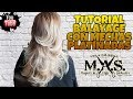 Download Como hacer Balayage Platino y Mechas en cabello teñido. Platinium Blond Balayage Hair. Video
