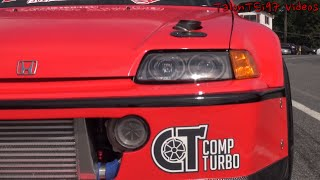 Download Big Comp Turbo LS 9sec Civic Hatch Video