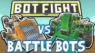 Download Scrap Mechanic - BATTLE BOTS CHALLENGE! VS AshDubh - [#42]   Gameplay Video