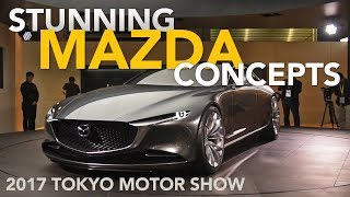 Download Mazda Vision Coupe and Kai Concepts, Plus Skyactiv-X - 2017 Tokyo Motor Show Video