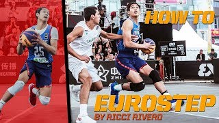 Download How To Eurostep - Ricci Rivero breaks down the Eurostep! | FIBA 3x3 Tutorial Video