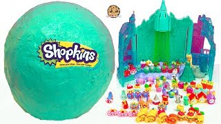 Download Giant Ball Shopkins Haul World Vacation Season 8 Visit Disney Frozen Queen Elsa Doll Video