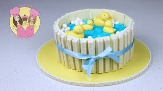 Download Make a Ducks in Pond Kit-Kat Cake - Baby shower - Part 1 with Aunty Elise from My Cupcake Addiction Video