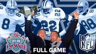 Download Super Bowl XXVII: ″The Start of a Dynasty″ | Dallas Cowboys vs. Buffalo Bills | NFL Full Game Video