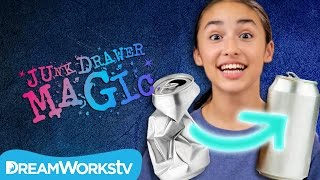 Download Fill a Soda Can With Your Mind | JUNK DRAWER MAGIC Video