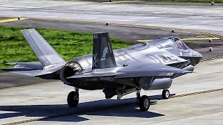 Download F-35B Strike Fighters Takeoff • Show Of Force Against NK Video
