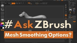 Download #AskZBrush - ″What other ways can I smooth my model without using the smooth brush?″ Video