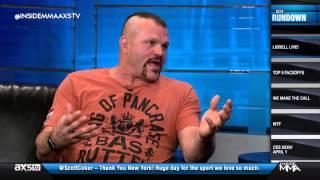 Download Chuck Liddell Talks Jon Jones, Dancing, and More on Inside MMA Video