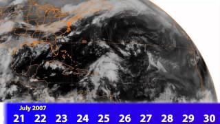 Download 2007 Atlantic Hurricane Season on Satellite Video