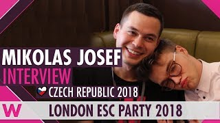 Download Mikolas Josef (Czech Republic 2018) Interview   London Eurovision Party 2018 Video