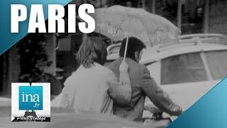 Download 1970 : Les parisiens sous la pluie | Archive INA Video