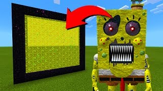 Download How To Make A Portal To The Spongebob Animatronic Dimension in Minecraft! Video