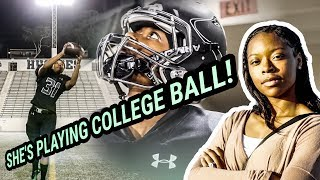 Download She's Going To Be The FIRST FEMALE In The NFL! Toni Harris Is Unbelievable 😱 Video