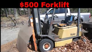 Download Will It Run? cheapest Forklift I could find. Video