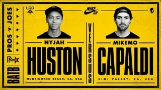 Download Nyjah Huston Vs Mike Mo Capaldi: BATB7 - Round 2 Video