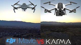 Download GoPro Karma vs DJI Mavic REAL flight Camera Test - Side by Side Video