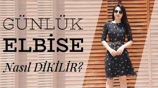 Download Günlük Kloş Elbise Nasıl Dikilir ?   Kalıpsız   Video