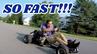 Download No ClickBait Title for This One.. Drifting Go Karts n' Stuff Video